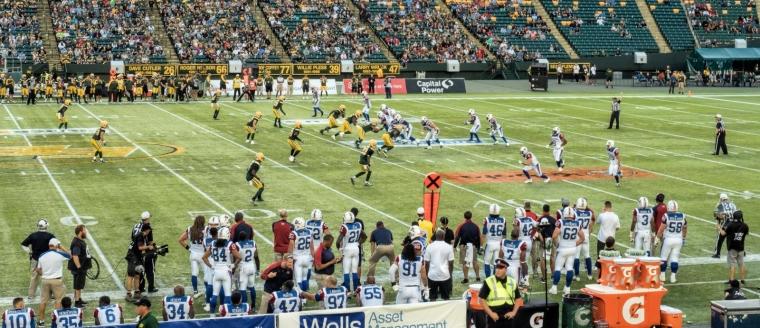 Eskimos vs Alouettes - Edmonton, Ab Canada 3