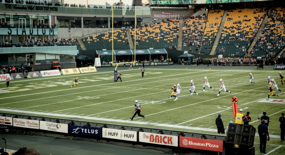 Eskimos vs Alouettes - Edmonton, Ab Canada 5