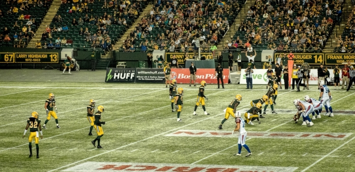 Eskimos vs Alouettes - Edmonton, Ab Canada 6