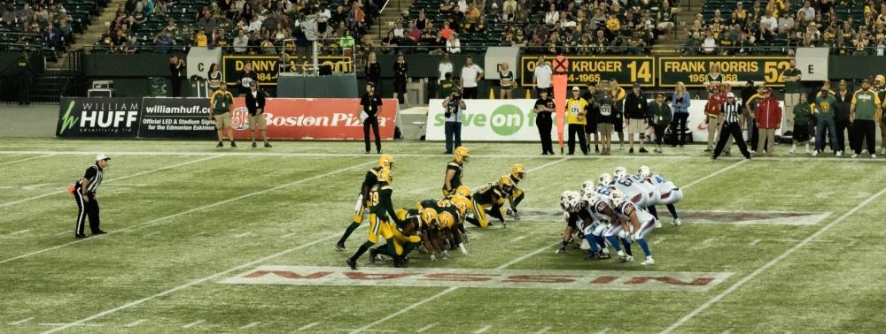 Eskimos vs Alouettes - Edmonton, Ab Canada 7