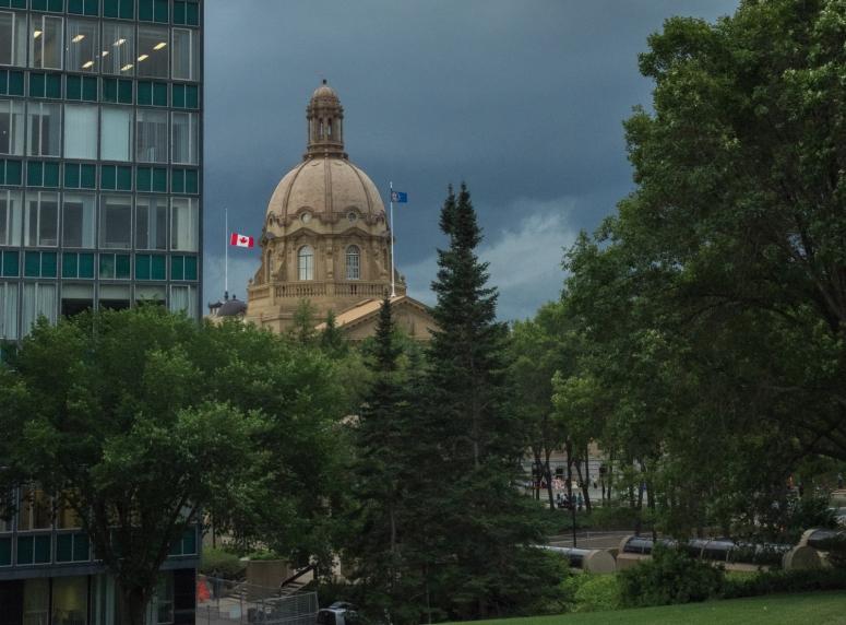 MIrrored Building - Edmonton, Alberta 1