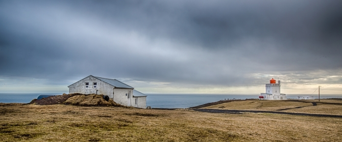 Lighthouse at Dyrhólaey Arch, Iceland 1