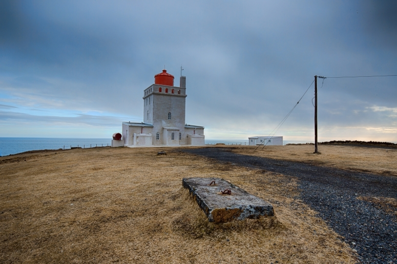 Lighthouse at Dyrhólaey Arch, Iceland 2