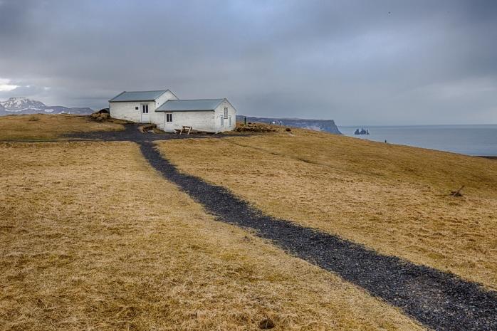 Lighthouse at Dyrhólaey Arch, Iceland 5