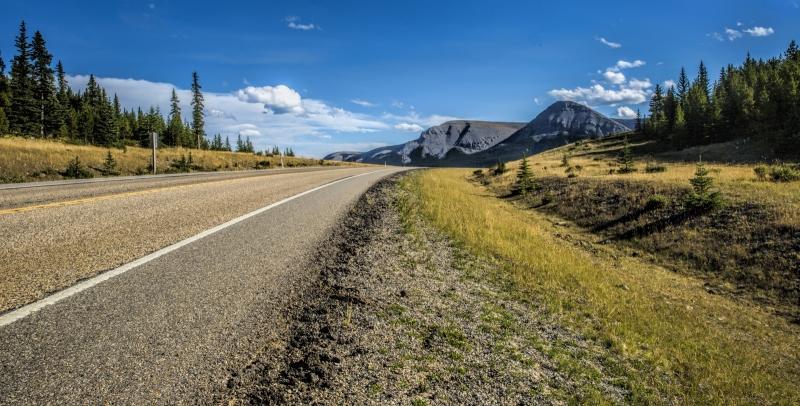 Back Country Highway - Bragg Creek, Alberta