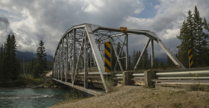 Bow River Bridge - Banff, Alberta