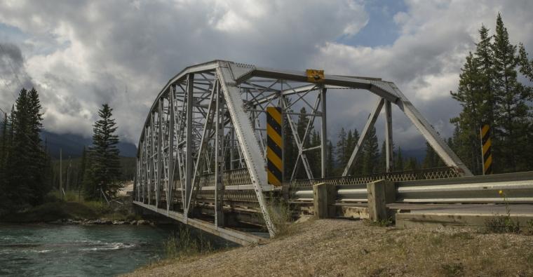Bow River Bridge - Banff, Alberta