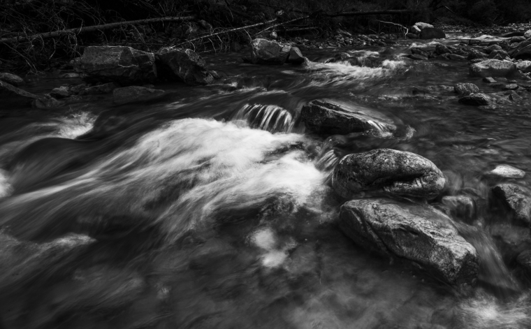 Creek near Sunshine Village - Banff, Alberta 1