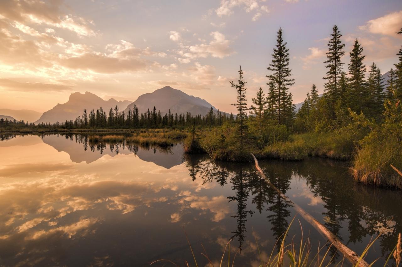 Vermilion Lakes - Banff, Alberta 3