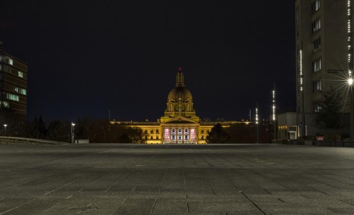 Alberta Legislature Building - 1