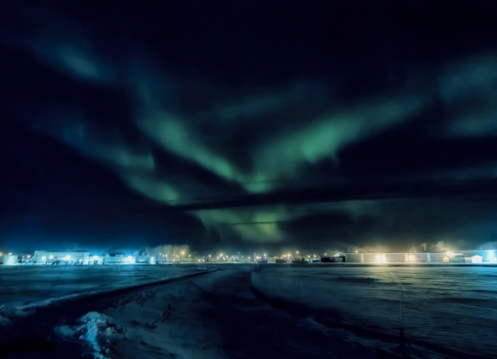 Northern Lights - Aurora Borealis, High Level, Alberta 1