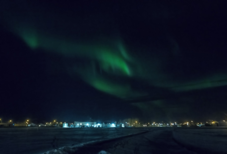 Northern Lights - Aurora Borealis, High Level, Alberta 2