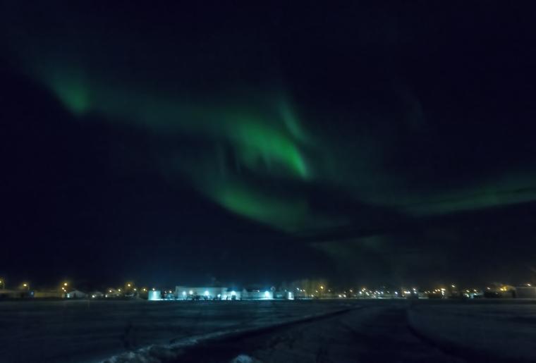 Northern Lights - Aurora Borealis, High Level, Alberta 2