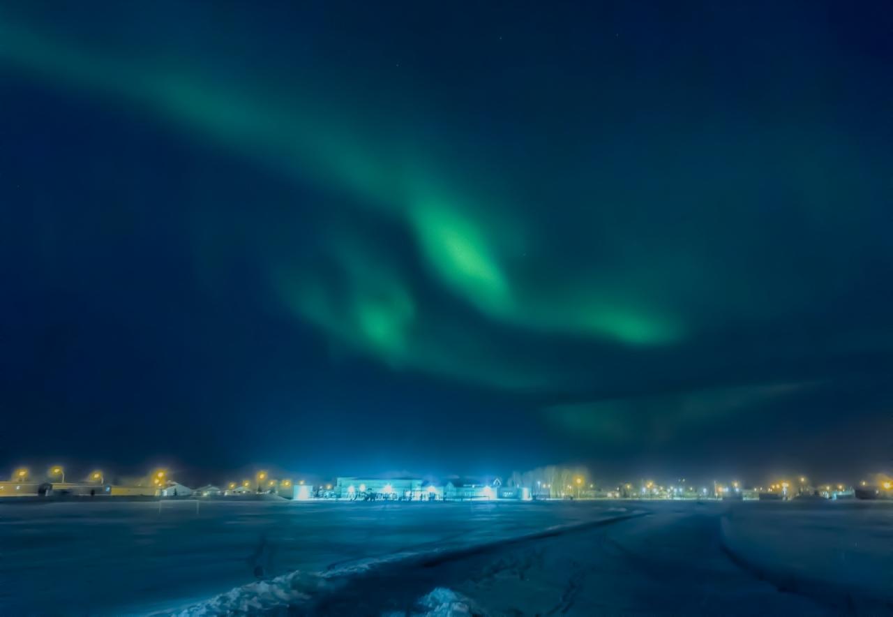 Northern Lights - Aurora Borealis, High Level, Alberta 3