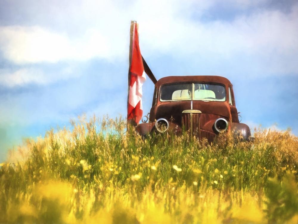 Studebaker Farm Truck - Alberta 2
