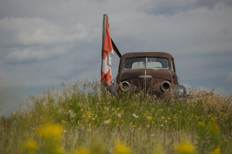 Studebaker Farm Truck - Alberta 1