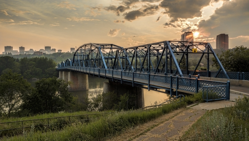 Dawson Bridge - Edmonton River Valley 2
