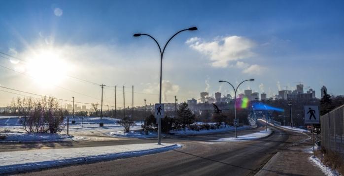 Colder Moments Around Edmonton - 1