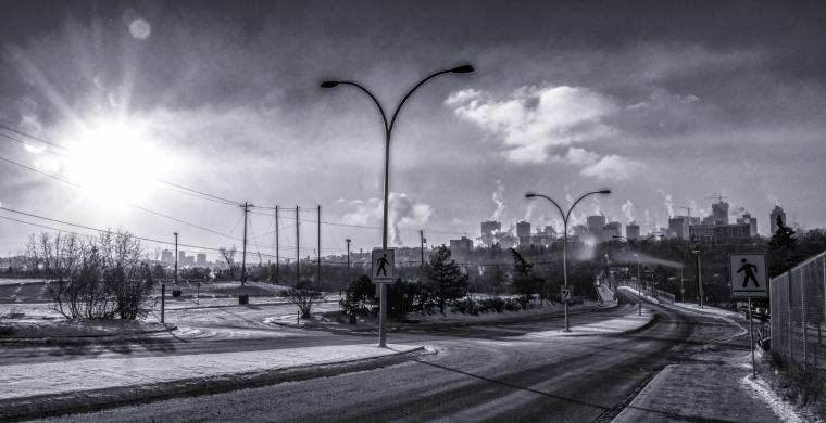 Colder Moments Around Edmonton - 2
