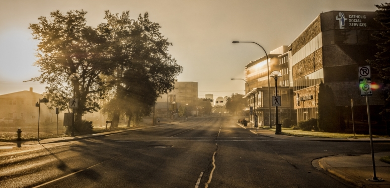 Early Edmonton Morning in August - 3