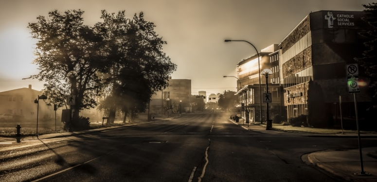Early Edmonton Morning in August - 6