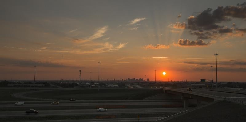 Edmonton Skyline - Sunset 1