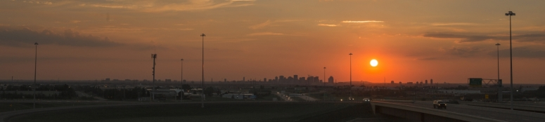 Edmonton Skyline - Sunset 2