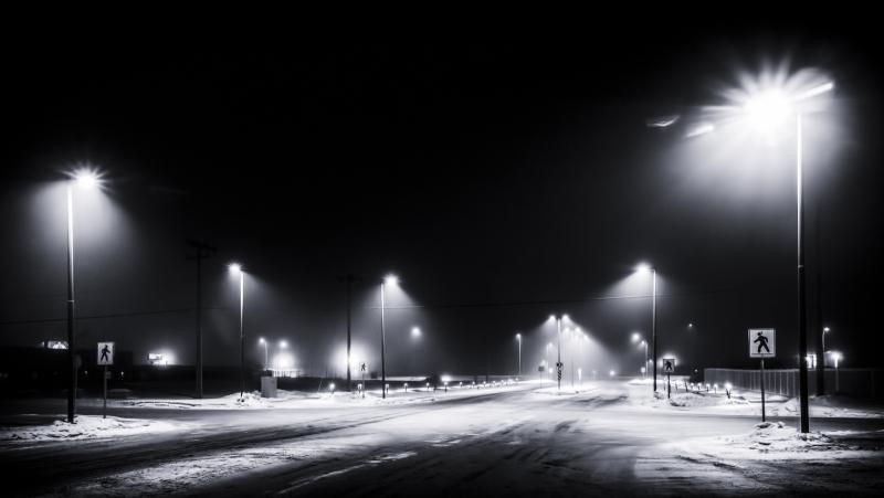 January Mists - High Level, Alberta 1