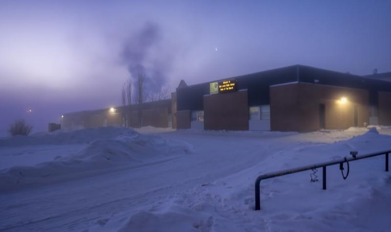 January Mists - High Level, Alberta 2