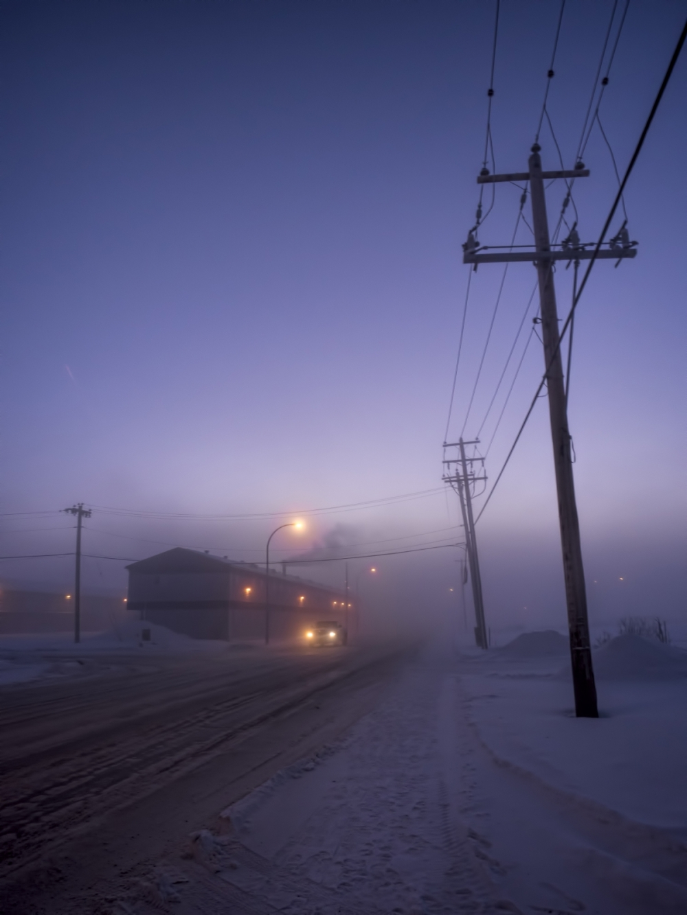 January Mists - High Level, Alberta 3