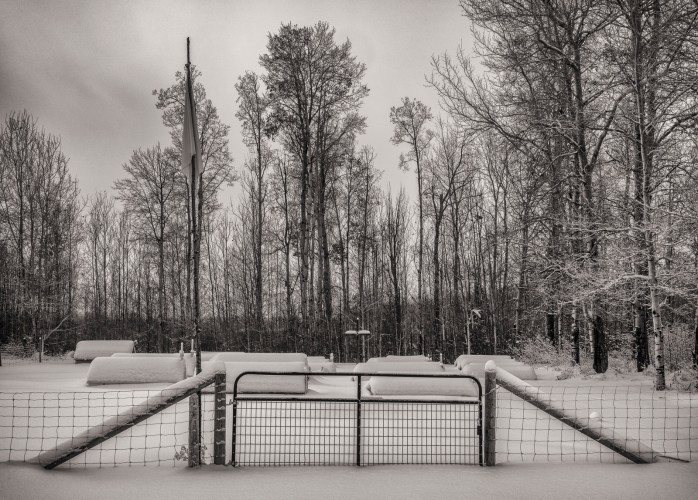Burial Houses – Rocky Lane, Alberta 1