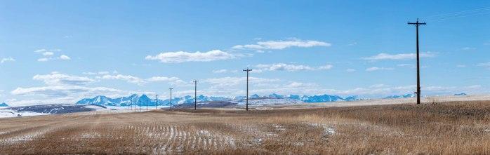 April Snow - Alberta Foothills 2