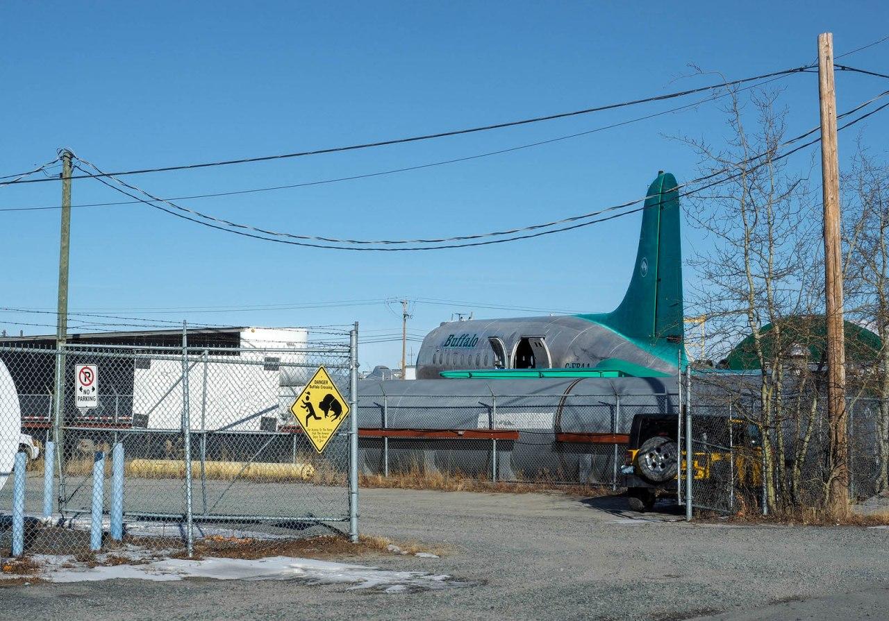 Buffalo Airways DC-3 or DC-4  2