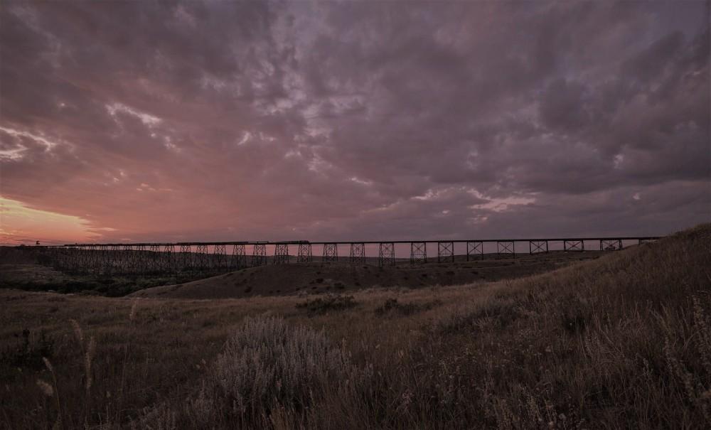 Train Trestle - Lethbridge, Alberta 1