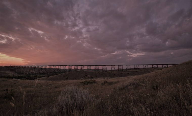 Train Trestle - Lethbridge, Alberta 1