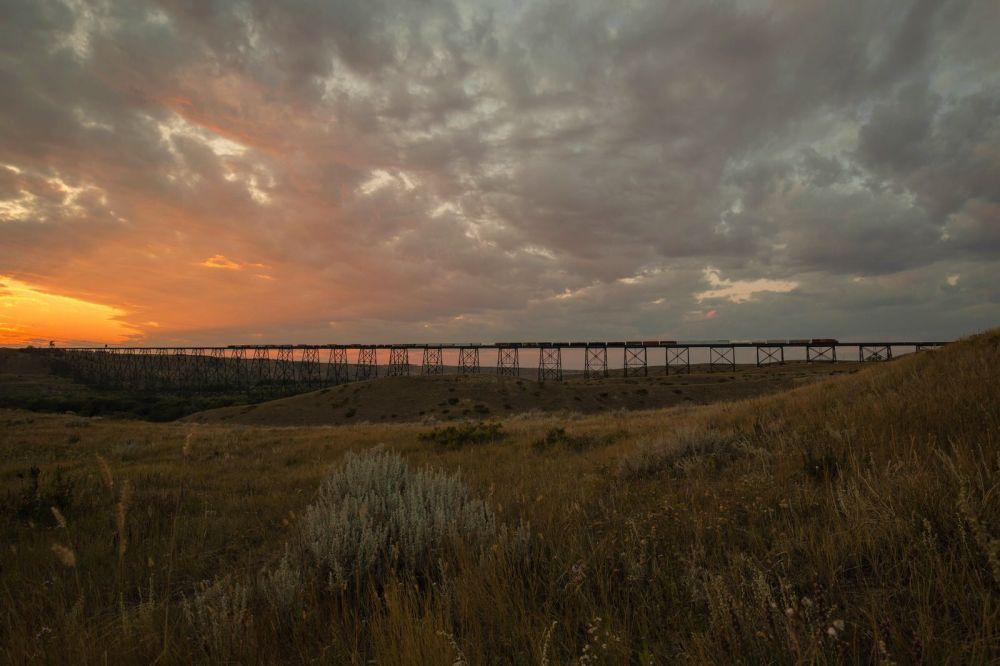 Train Trestle - Lethbridge, Alberta 2