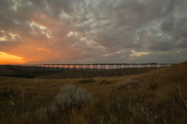 Train Trestle - Lethbridge, Alberta 2