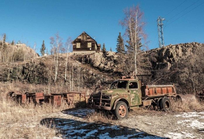 Yellowknife, NT - Diamond Mine Relics 2