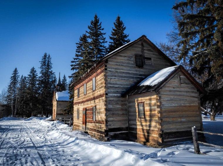 Dunvegan Buildings - Dunvegan, Alberta