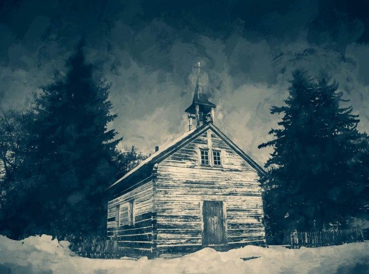 Dunvegan Church - Dunvegan, Alberta, 1