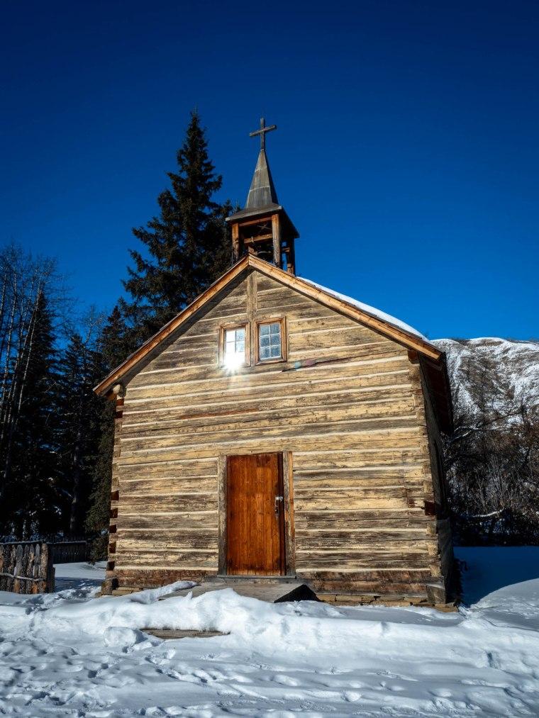 Dunvegan Church - Dunvegan, Alberta, 2