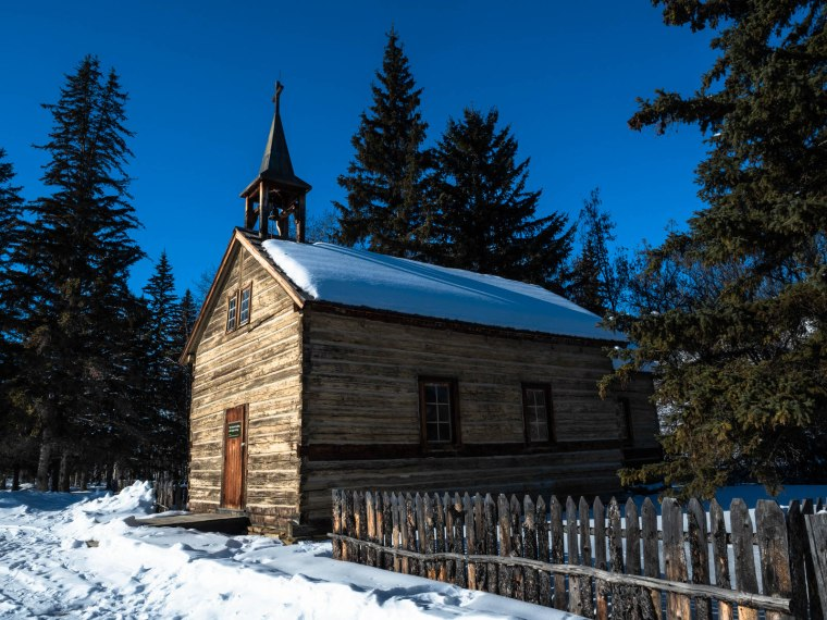 Dunvegan Church - Dunvegan, Alberta, 3