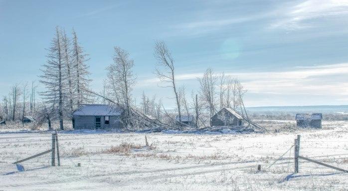 Derelict Homestead – Sexsmith, Alberta, Canada – 2