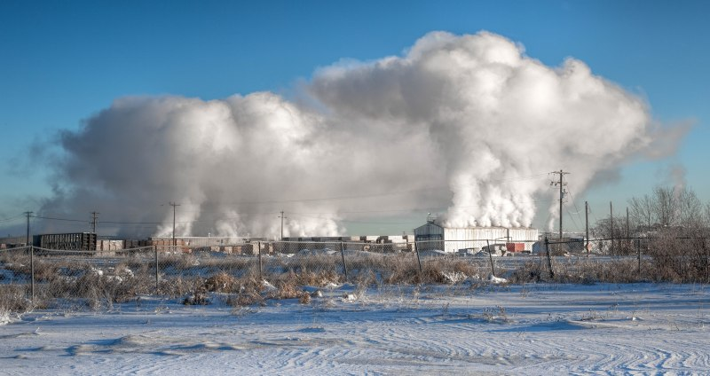 Lumber Mill Steam – High Level, Alberta, Canada