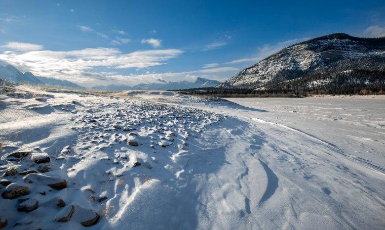 Abraham Lake, Alberta, Canada - 2