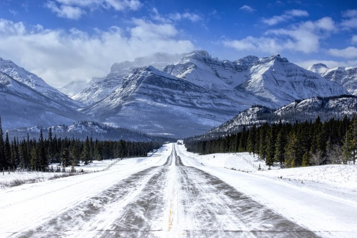 From Abraham Lake to Banff National Park - 1