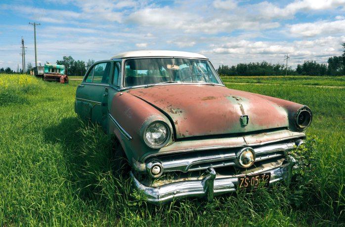 54 Ford Crestline - Manning, Alberta 1