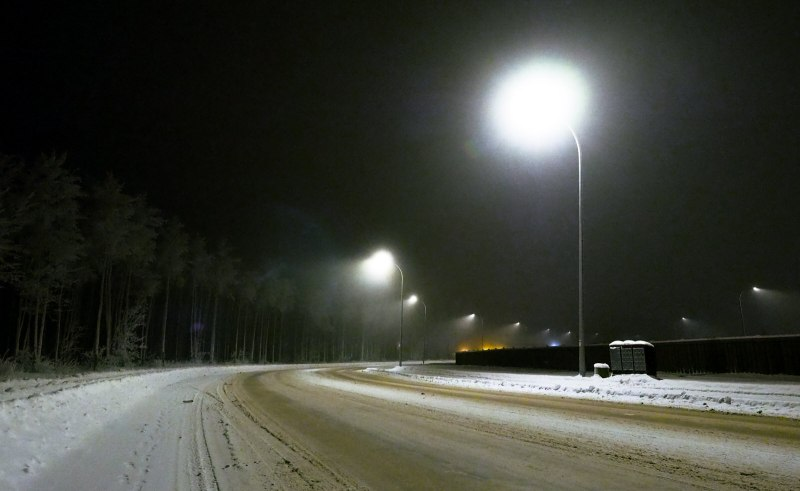 Glowing Lamp Post Light - High Level - 2
